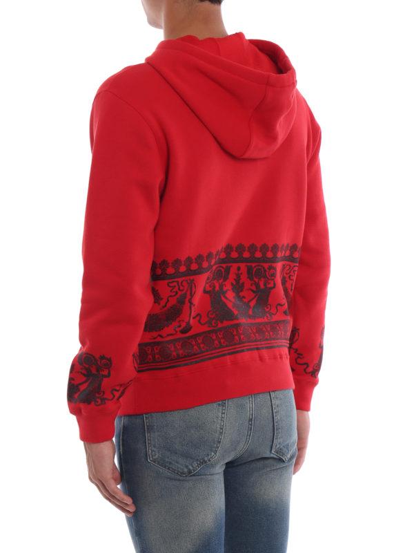 Sweatshirt - Rot shop online: VERSACE