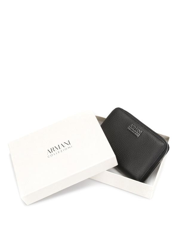 iKRIX ARMANI COLLEZIONI: Leather wallet