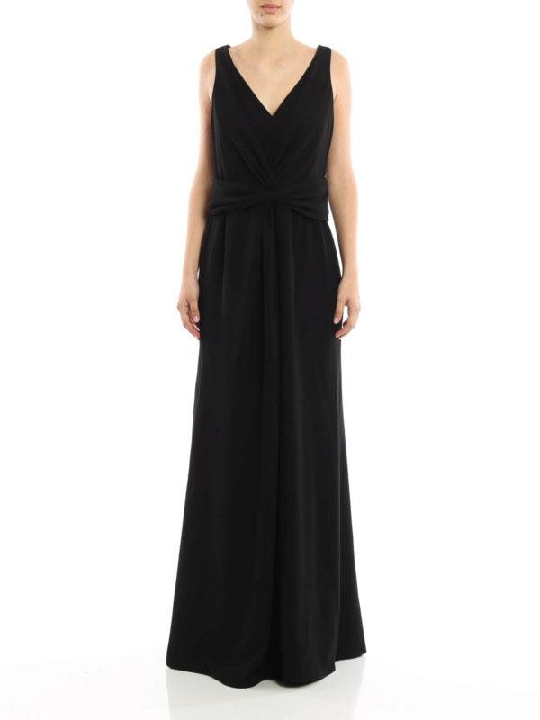6be5b22e186b Armani Collezioni - Robe De Soirée Noir - Robes de soirée - VMA54T ...