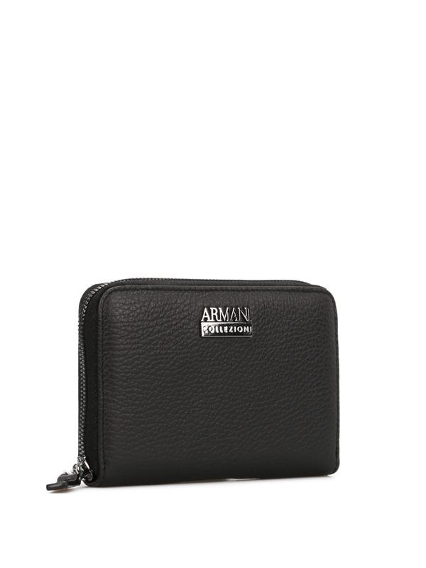 ARMANI COLLEZIONI: wallets & purses online - Leather wallet
