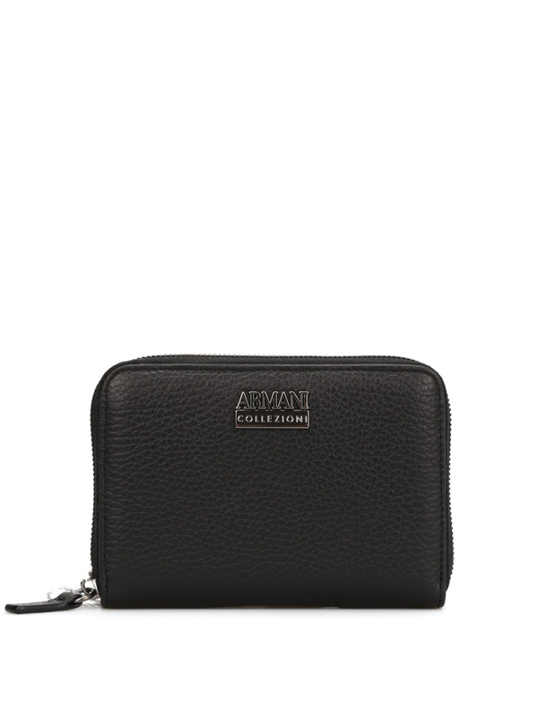 Armani Collezioni: wallets & purses - Leather wallet