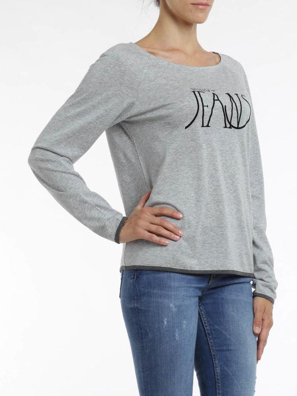Armani Jeans buy online Logo print top