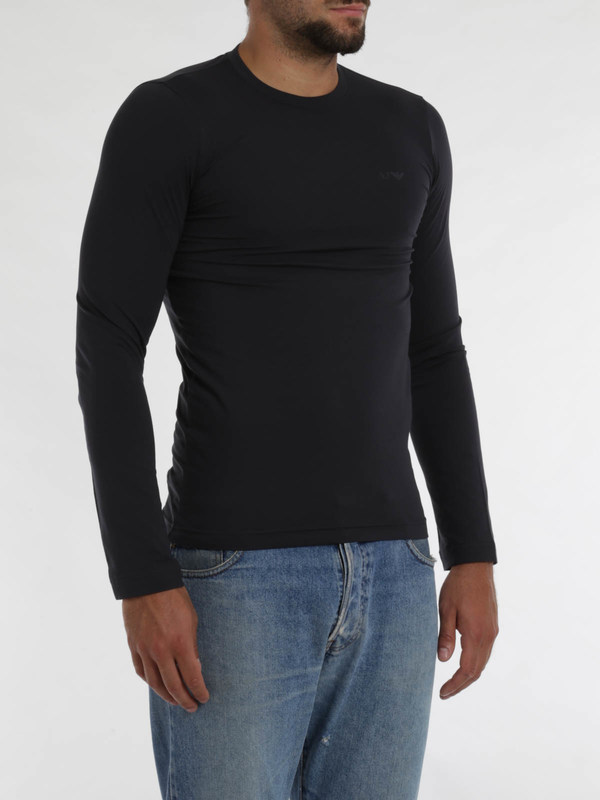 Armani Jeans buy online Stretch jersey cotton top