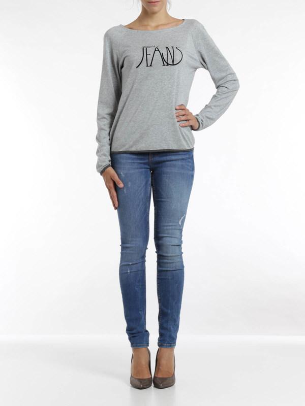 Armani Jeans: t-shirts online - Logo print top