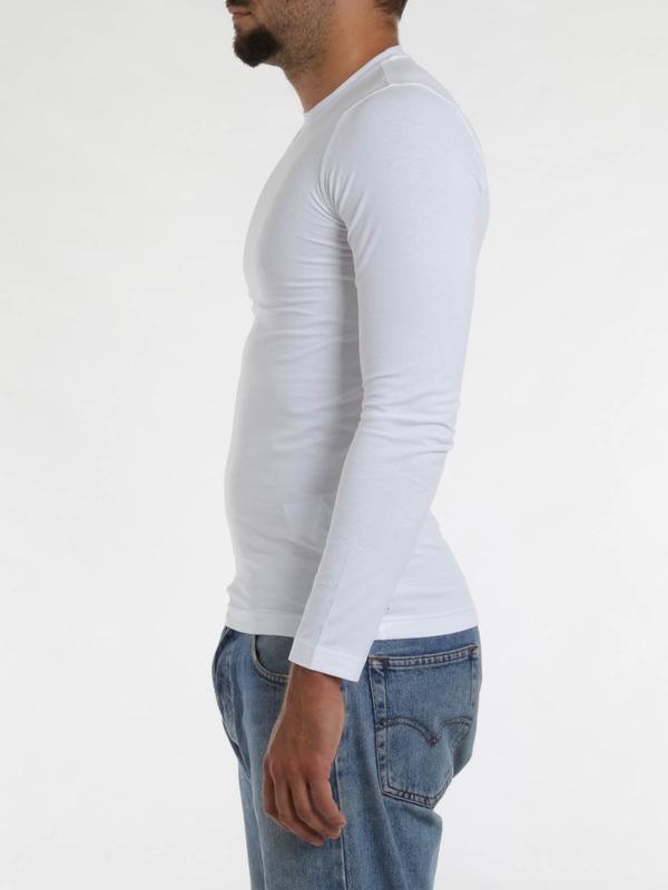 iKRIX Armani Jeans: Stretch jersey cotton top