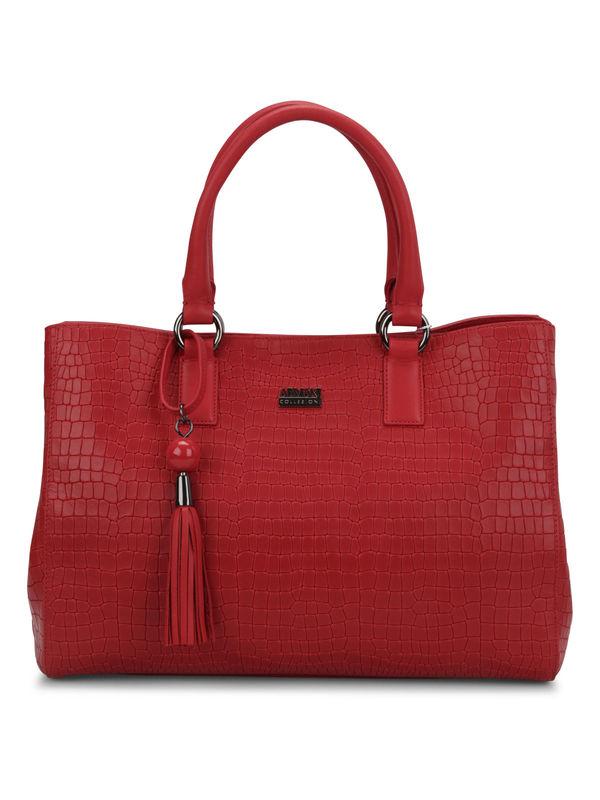 Armani: Handtaschen - Crocodile texture shopping tote