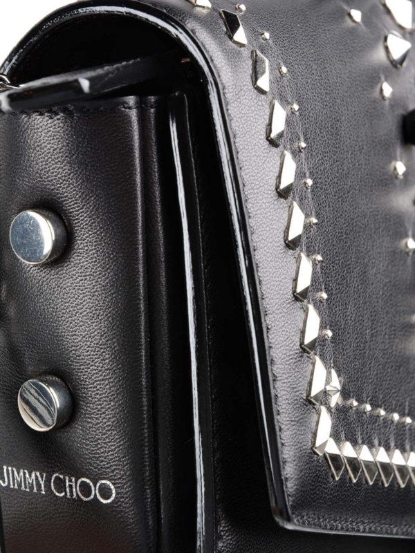 Schultertasche - Schwarz shop online: Jimmy Choo