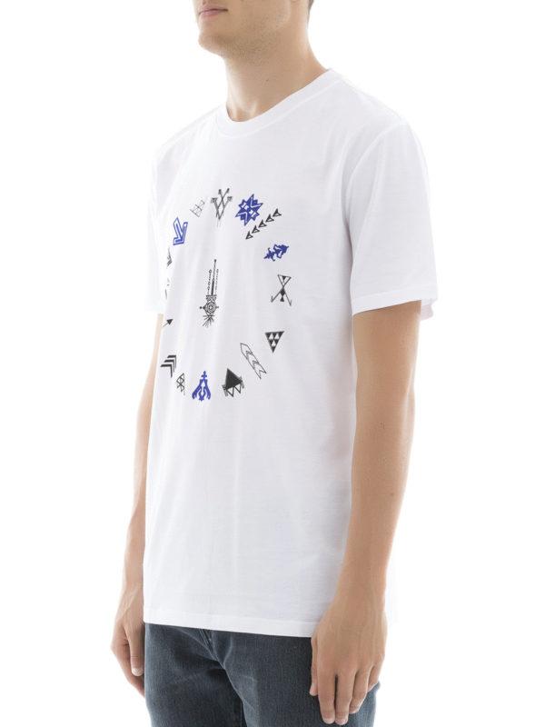 T-Shirt - Weiß shop online: Lanvin