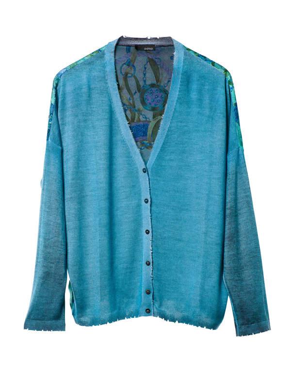 Avant Toi buy online Cardigan with foulard