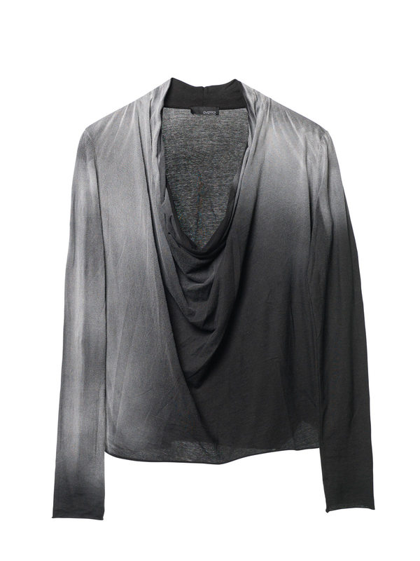AVANT-TOI buy online Draped neck  top
