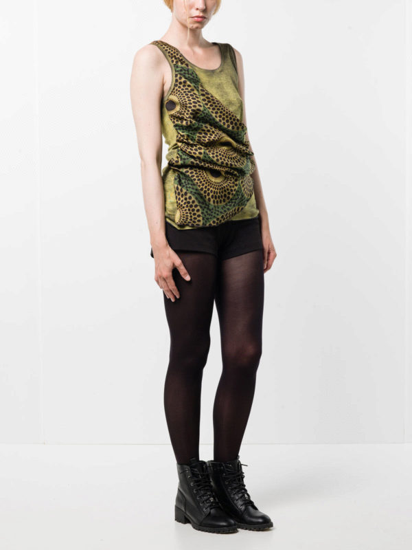 Avant Toi buy online Round neck top with foulard