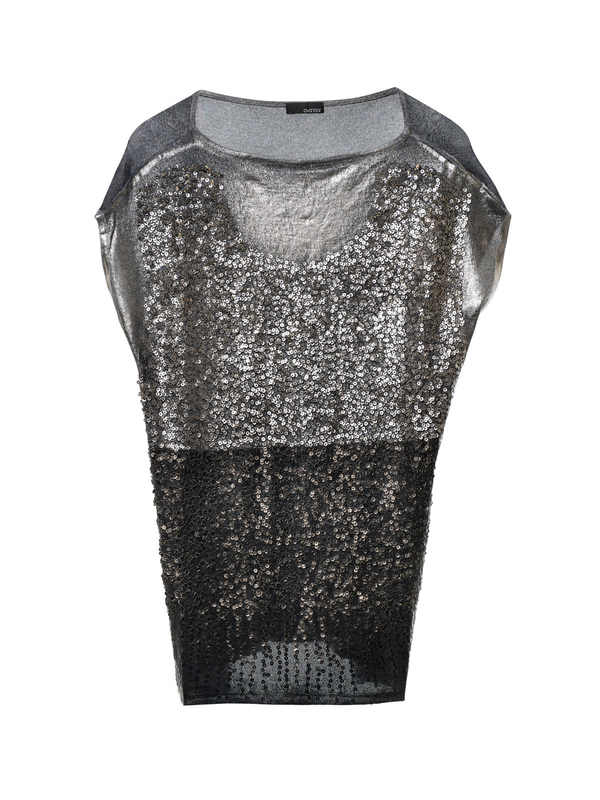 Avant Toi buy online Sleeveless sequined top