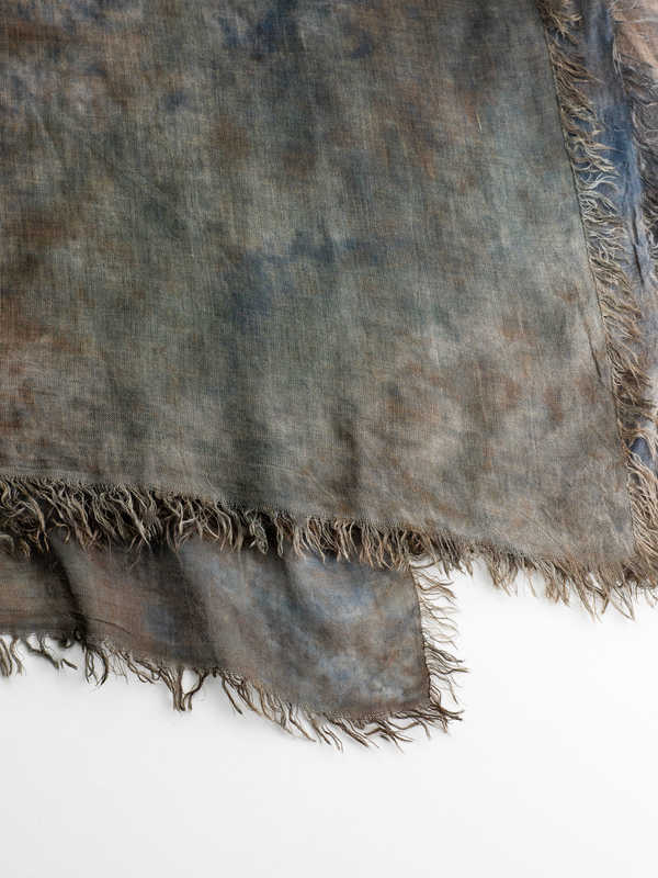 AVANT-TOI buy online Tie-dye effect scarf