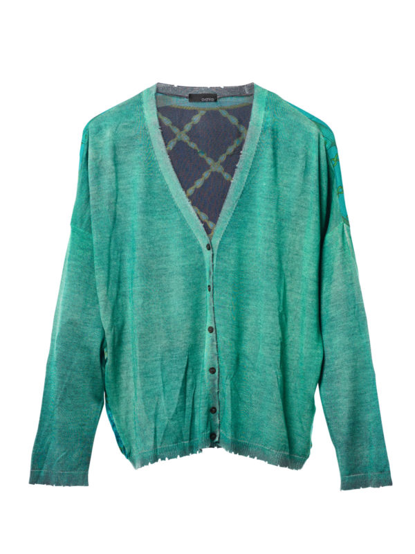 Avant Toi:  - Cardigan with foulard