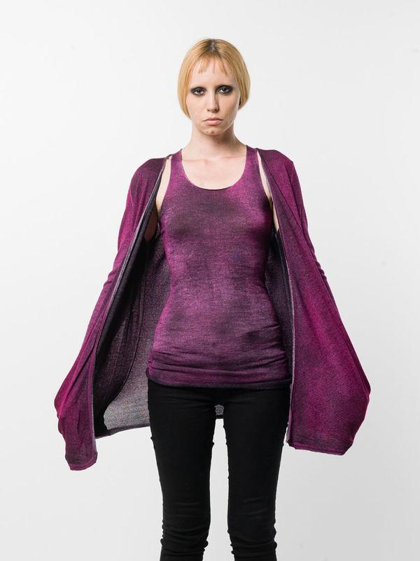 Avant Toi:  online - Draped cardigan