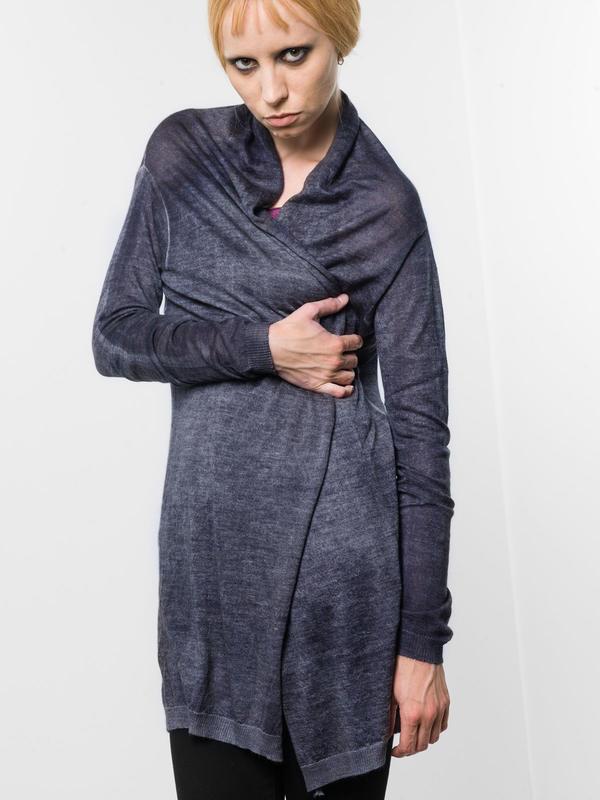 Avant Toi:  online - Shawl neck cardigan