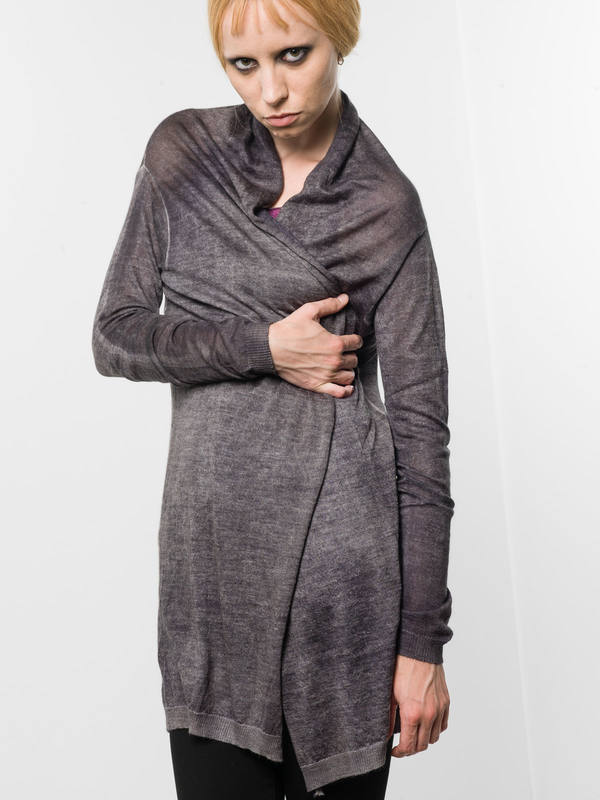 Avant Toi: cardigans online - Shawl neck cardigan
