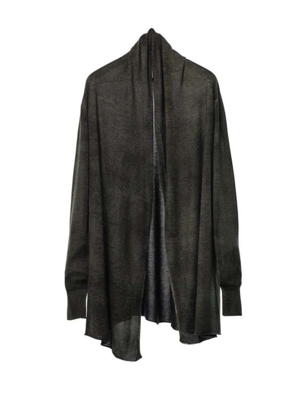 AVANT-TOI: cardigans - Shawl neck cardigan