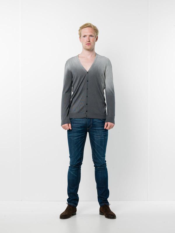 AVANT-TOI: cardigans - V-neck cardigan