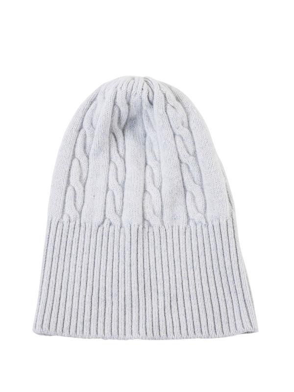 Avant Toi: hats & caps - Cable knit beanie