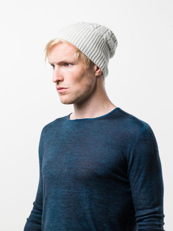 Avant Toi: hats & caps online - Cable knit beanie