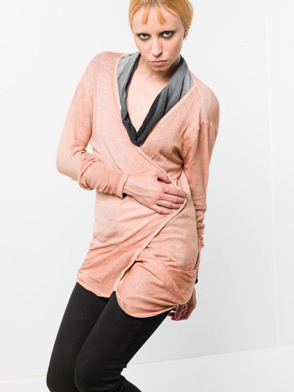 AVANT-TOI: cardigans online - Draped cardigan