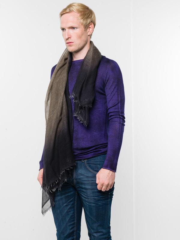 Avant Toi: Schals online - Bicoloured fading scarf