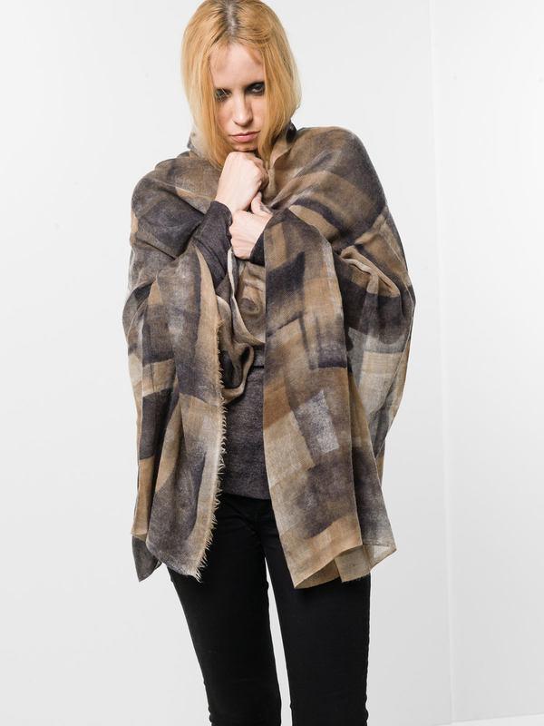 Avant Toi: Schals online - Geometric patterned scarf