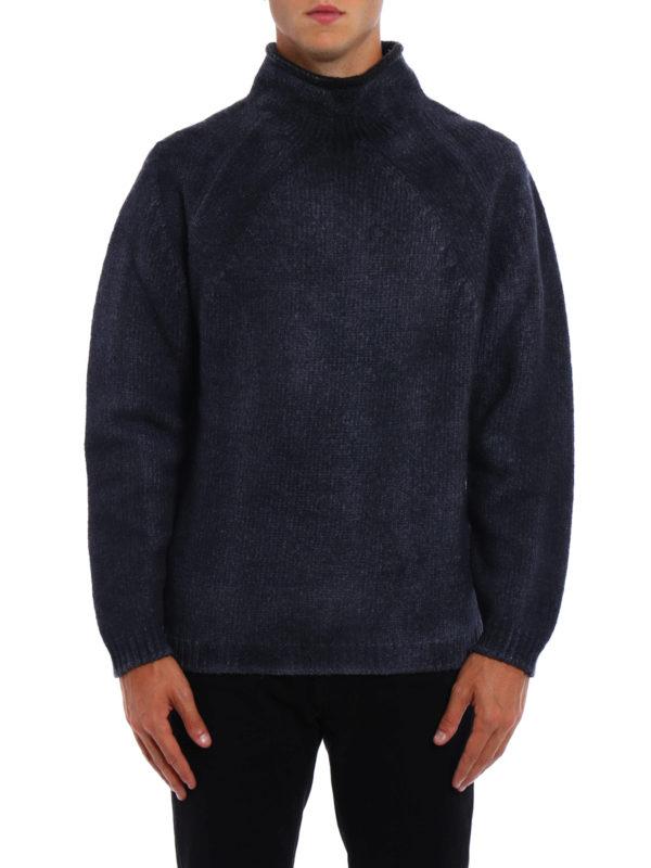 AVANT-TOI: Turtlenecks & Polo necks online - Shaded wool blend heavy sweater