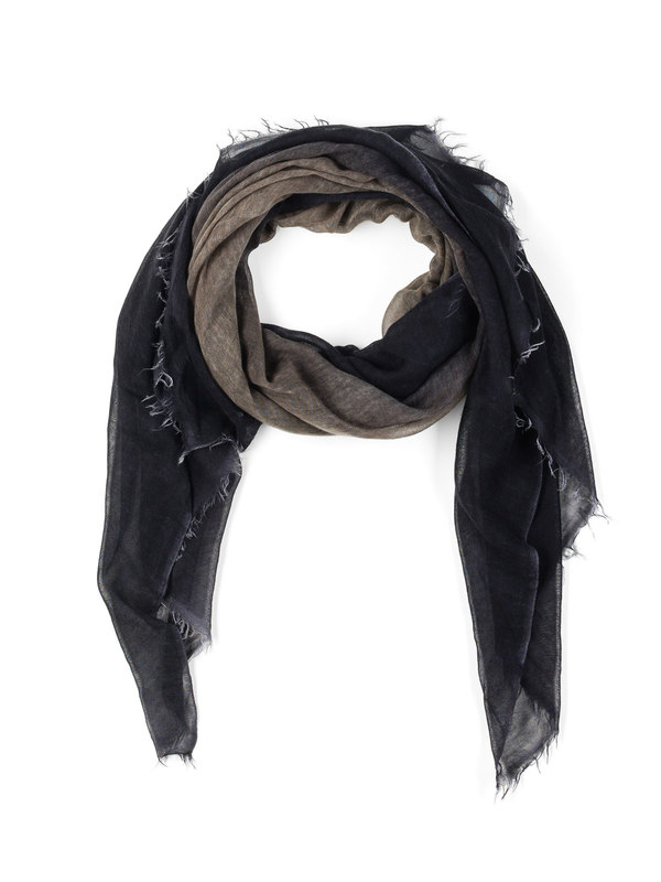 Avant Toi: scarves online - Bicoloured fading scarf