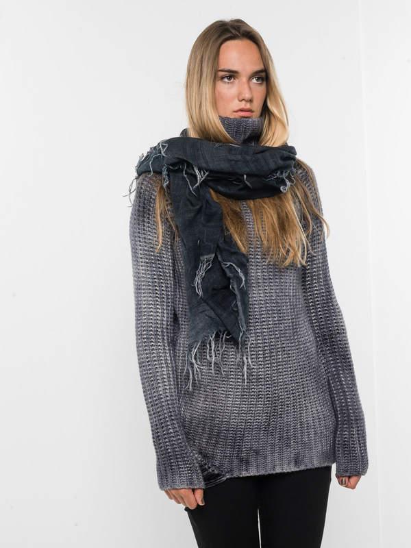 Avant Toi: scarves online - Tartan patterned scarf
