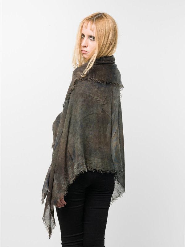 Avant Toi: Schals online - Tie-dye effect scarf