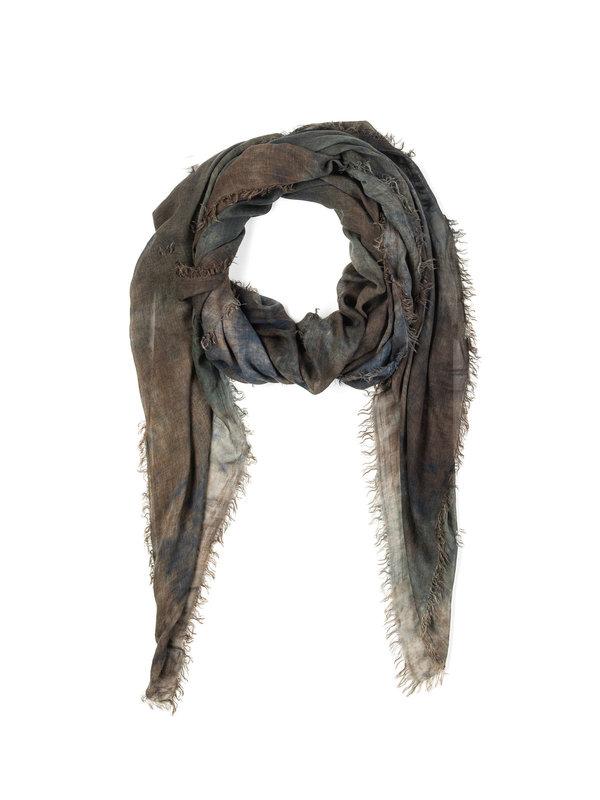 AVANT-TOI: scarves - Tie-dye effect scarf