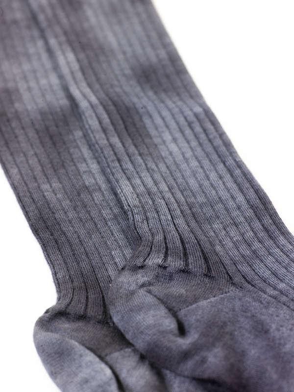 Avant Toi: socks online - Ribbed socks