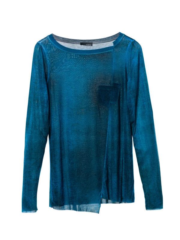 Avant Toi: Sweatshirts & Sweaters - Asymmetric boatneck top