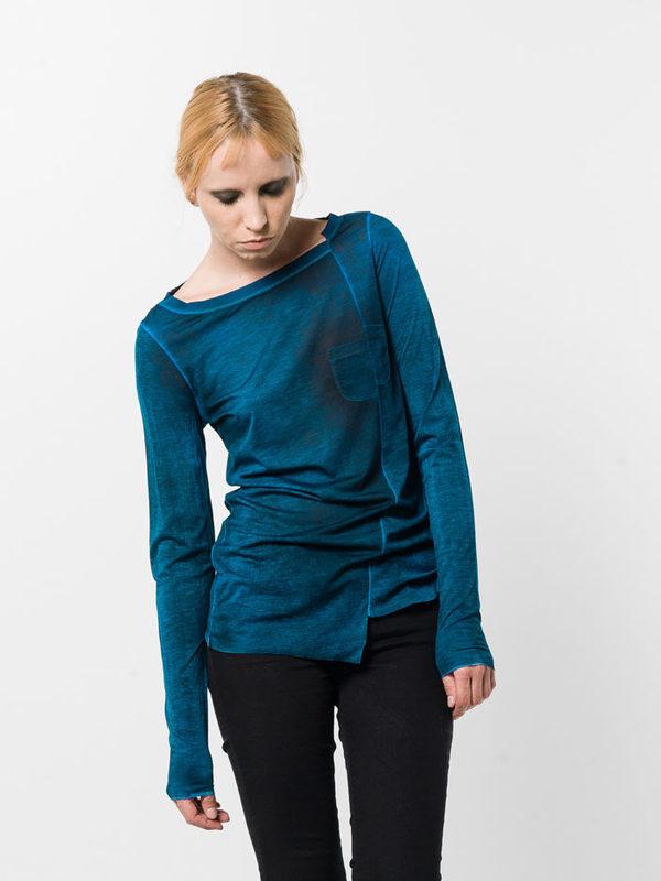 Avant Toi: Sweatshirts & Sweaters online - Asymmetric boatneck top