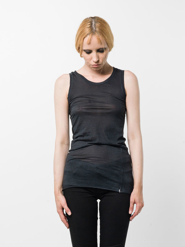 Avant Toi: Tops und Tank Tops online - Round neck sleeveless top