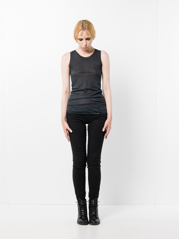 Avant Toi: Tops und Tank Tops - Round neck sleeveless top