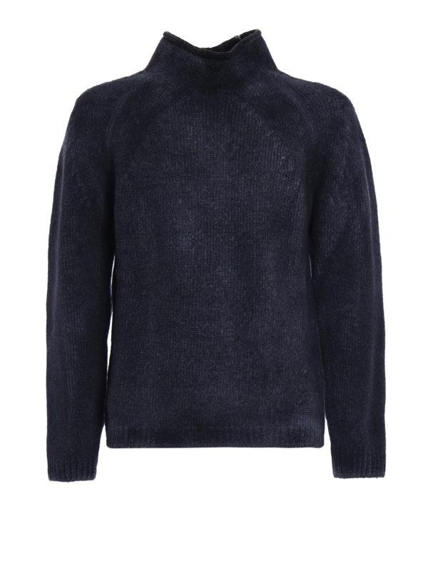 AVANT-TOI: Turtlenecks & Polo necks - Shaded wool blend heavy sweater