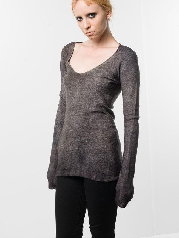 Avant Toi: Strickpullover mit V-Ausschnitt online - V-neck top