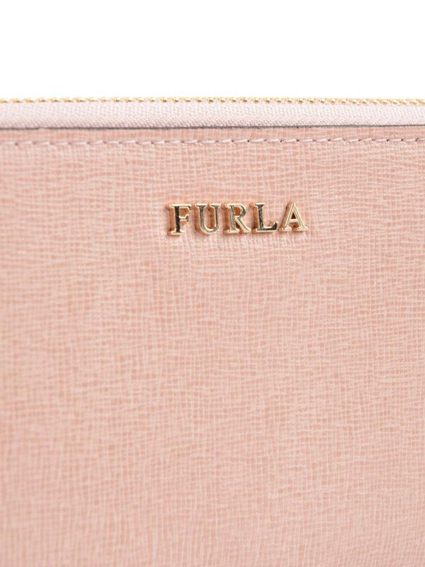 Portemonnaie - Hellrosa shop online: Furla