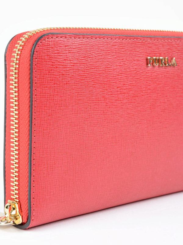 Portemonnaie - Rot shop online: FURLA