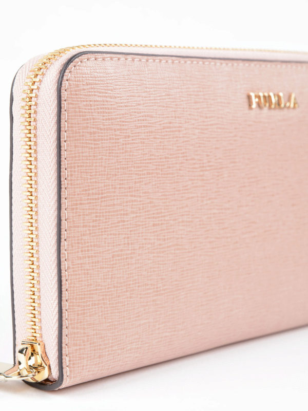 Portemonnaie - Pink shop online: Furla