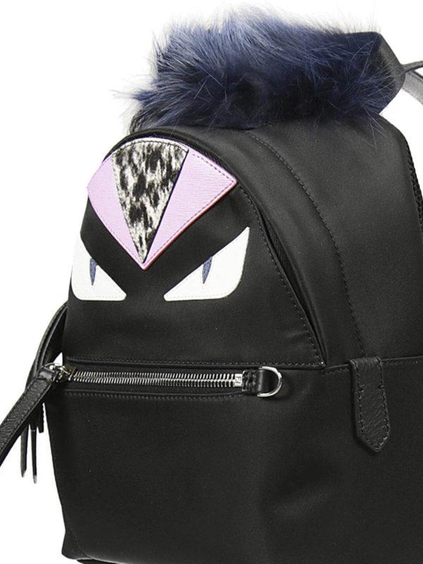Fendi - Bag Bugs mini backpack - backpacks - 8BZ03848ZF044W  7327c54a4de89
