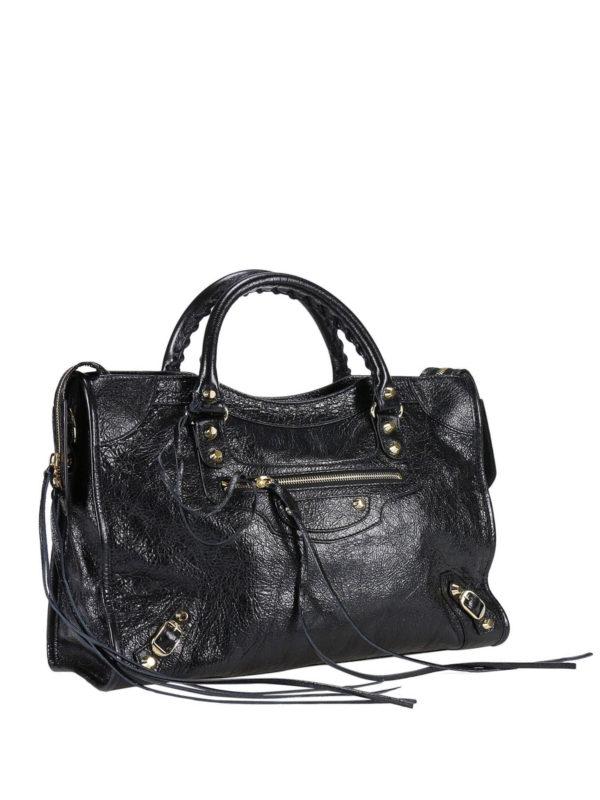 Balenciaga: Handtaschen online - Shopper - Schwarz