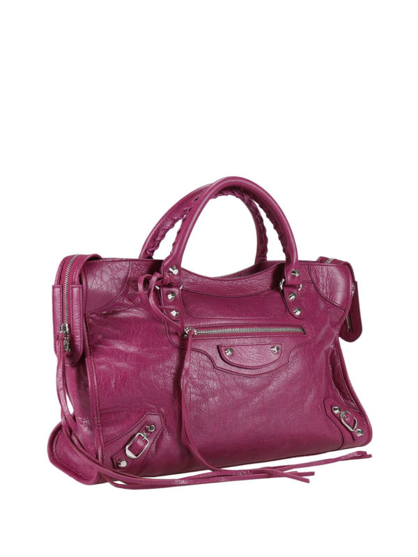 BALENCIAGA: Handtaschen online - Shopper - Fuchsia