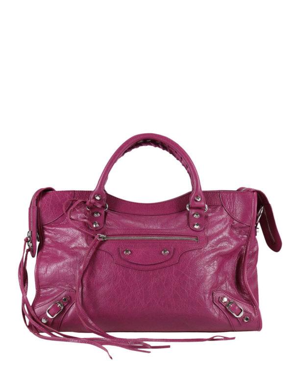 BALENCIAGA: Handtaschen - Shopper - Fuchsia