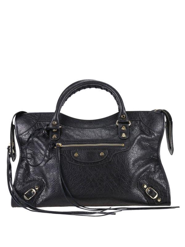 BALENCIAGA: Handtaschen - Shopper - Schwarz