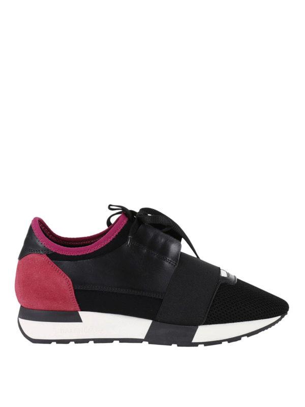 Balenciaga: Sneaker - Sneaker - Schwarz