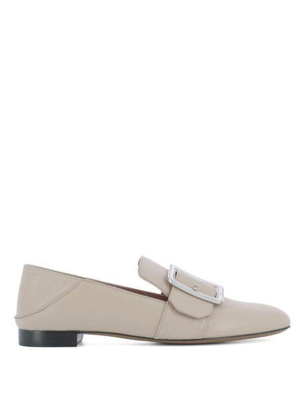 BALLY: Mokassins und Slippers - Slippers - Beige